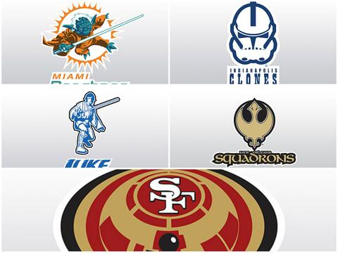 El diseñador gráfico Steven Klock, fusionó los logo...
