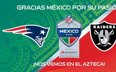 NFL México agradeció a los aficionados por agotar las entr...
