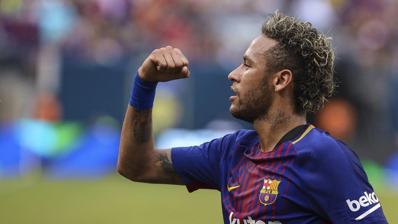 Neymar le dio el triunfo al Barcelona ante Juventus