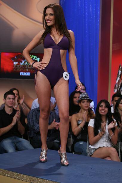 Ecuador llegó de lujo con Michelle Andrade.