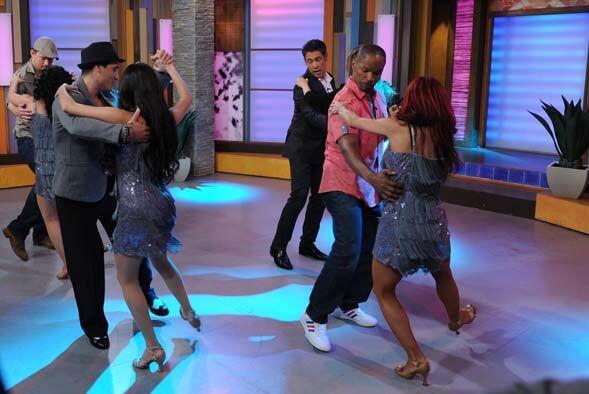 ¡Para que realmente aprendieran a bailar, les trajeron a Darcy Ima, core...