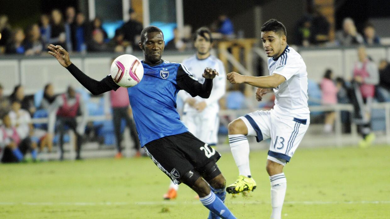 San Jose Earthquakes vs Vancouver Whitecaps