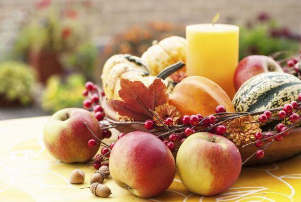La gama de colores del otoño, es ideal lograr una decoración espectacula...