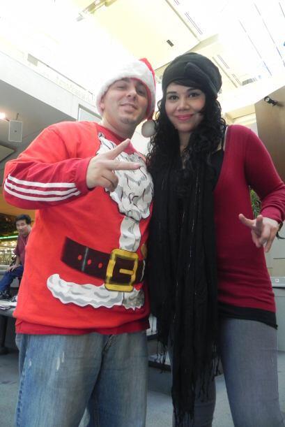 ¡Ya llegó la navidad a 104.9 Tu Música y Acompañamos a Jojo y Ana Alonso...