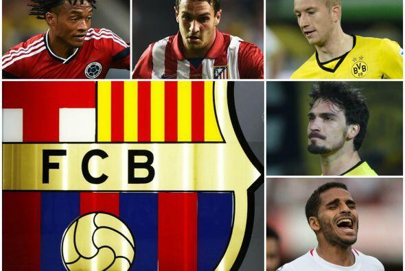 Las compras de pánico del Barça se enfocarían en futbolistas de élite de...