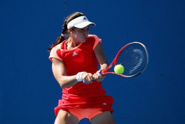 La estadounidense Christina McHale eliminó a Lucie Safarova por 6-2 y 6-4.