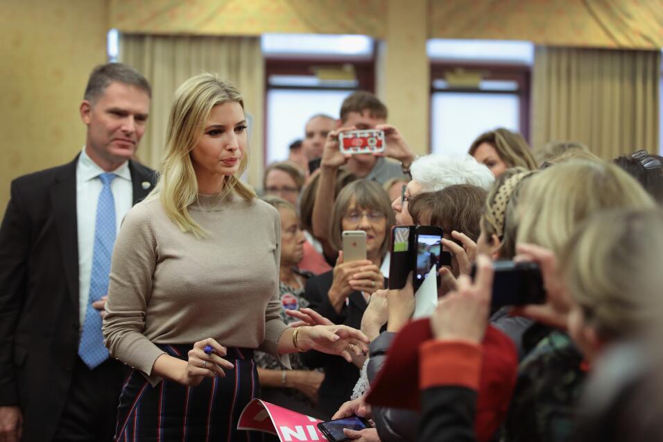 Ivanka Trump tendrá una oficina en la Casa Blanca GettyImages-615930440.jpg