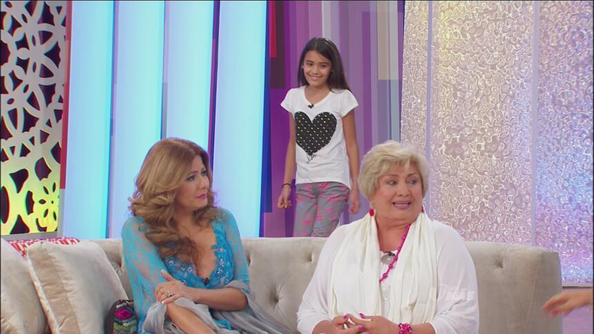 ¡Al estudio llegó la hija de Carmen!