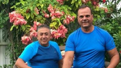 Oswald González y Alberto Arias estaban en el mismo auto cuando c...