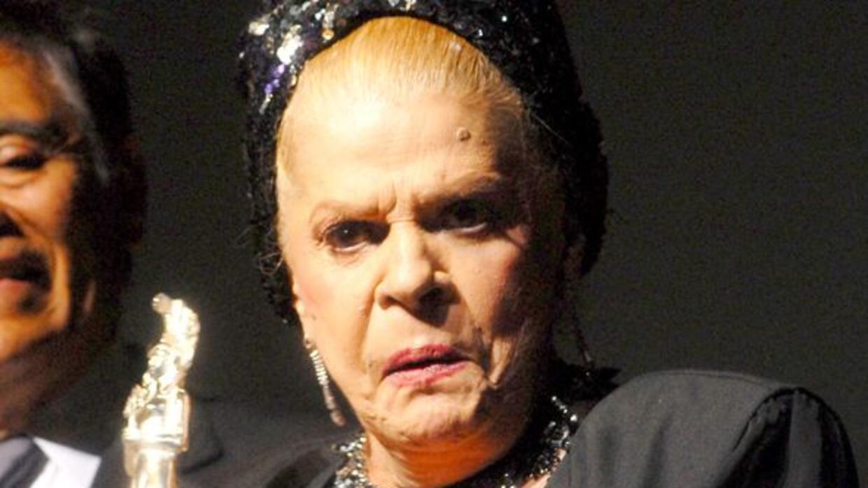 La bailarina y actriz cubana, Ninón Sevilla, está internada en un hospit...