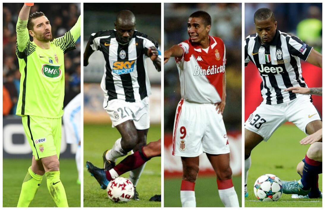 Mónaco-Juventus, una relación de larga data y varios cracks MON-JUV juga...