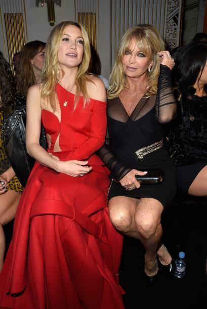 La famosa actriz estuvo acompañada de su mamá, la divertida Goldie Hawn.