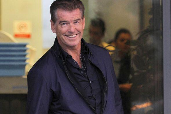 Pierce Brosnan: Este hombre, mejor conocido por interpretar a James Bond...