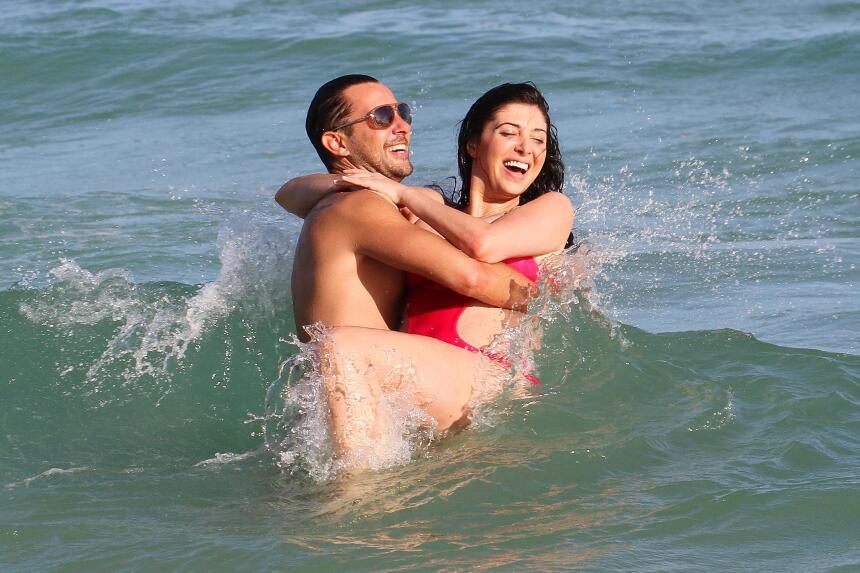 Brittny Gastineau se divierte en Miami