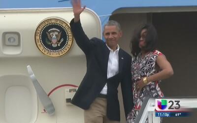 Barack Obama le dice adiós a Cuba