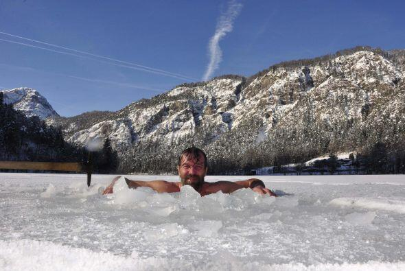 Como el del baño en hielo más largo, Wim sabe de lo que su cuerpo es cap...