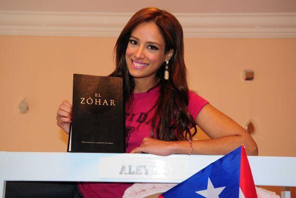 """""""Tengo dos amuletos, uno es un libro Zohar"""", expresó Aleyda."""