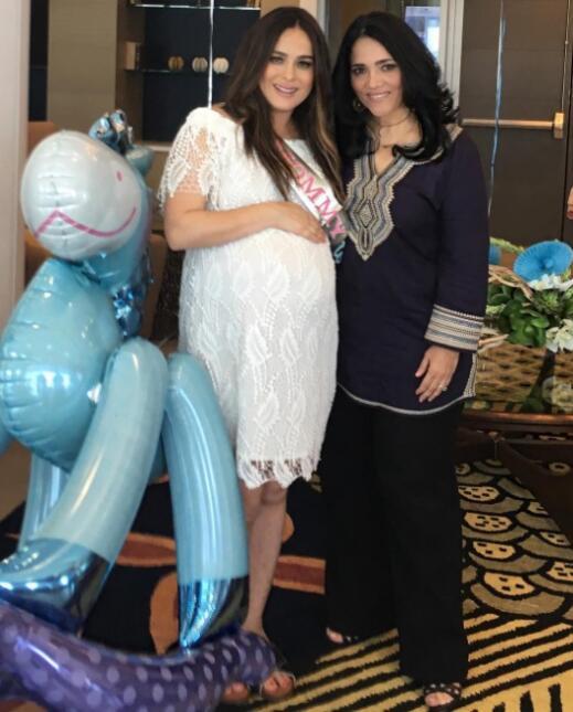 Danna García disfrutó de su primer baby shower - Univision