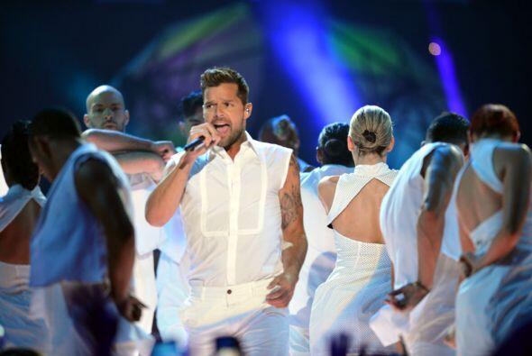 Estamos seguros que aún nos queda Ricky Martin para un buen rato.