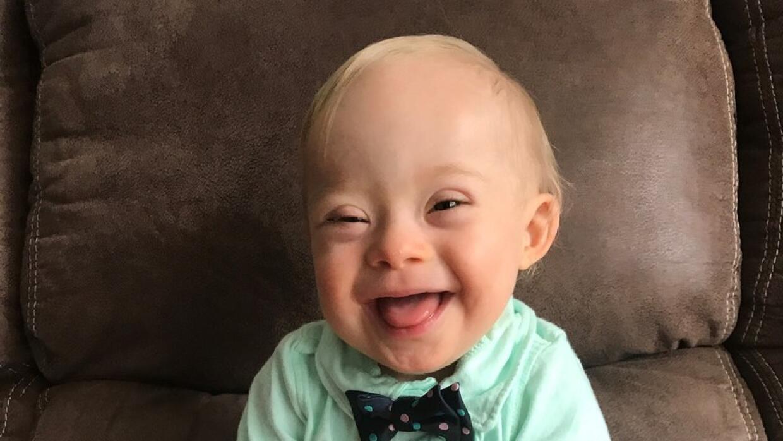 Lucas Warren ha sido elegido como el nuevo bebé de la marca Gerber.