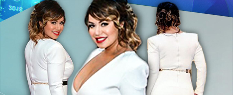 La vez que Chiquis Rivera lució espectacular en un vestido blanco