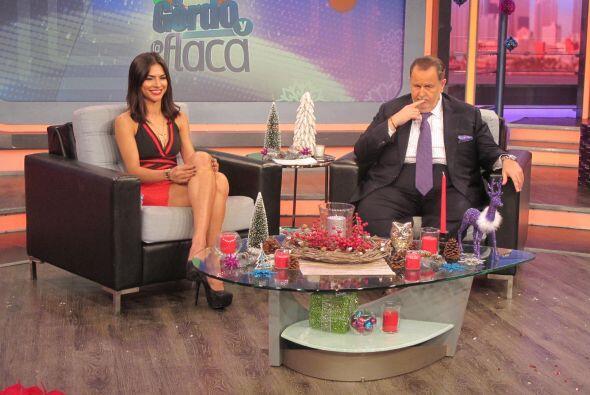 En el primer programa del año, El Gordo de Molina y la guapa Alejandra E...