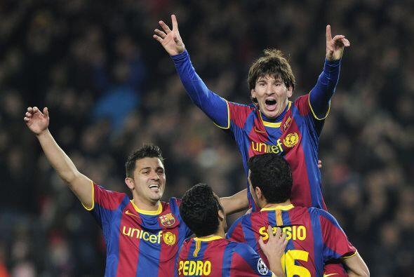 El Arsenal sería testigo de la magia de Messi, el argentino anotaría cua...