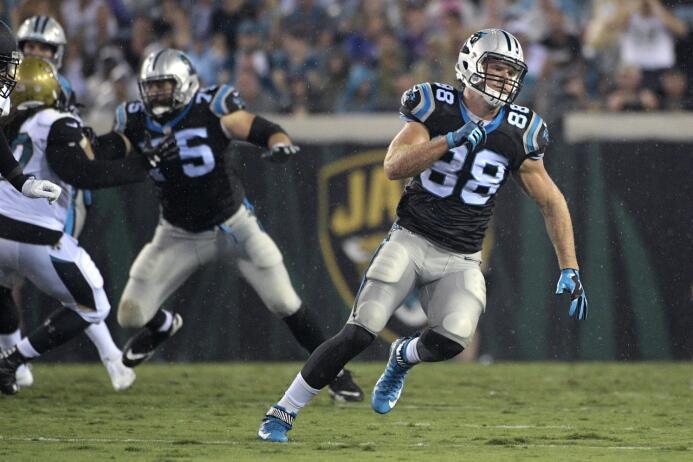 4. Greg Olsen | Carolina PanthersConsistencia. Olsen va por su cuarta te...