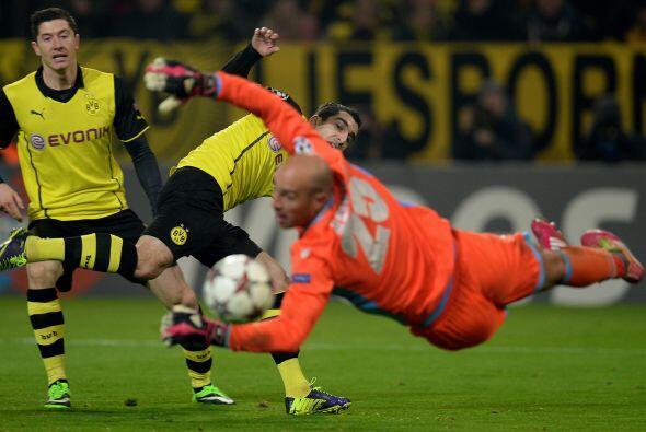 El equipo alemán era una aplanadora en la cancha.