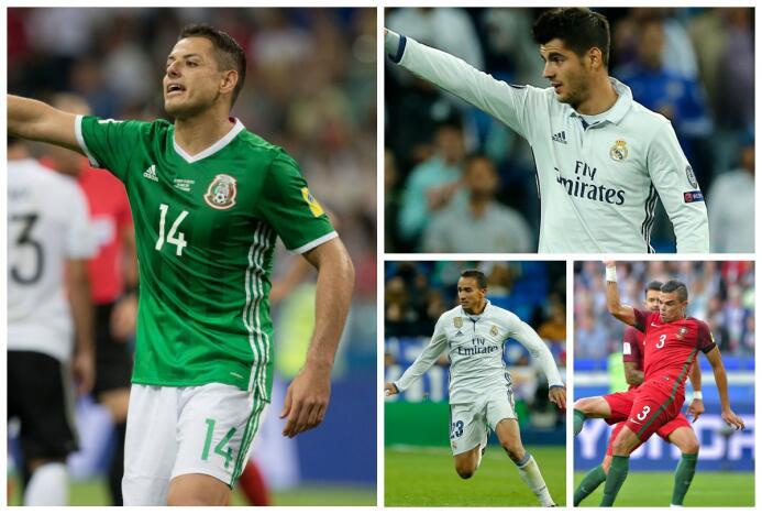 'Chicharito' regresaría a la Premier, Danilo reemplazará a Dani Alves y...
