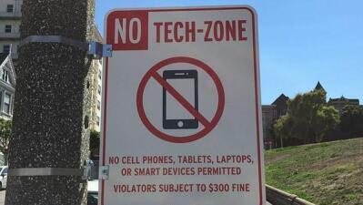 Señal antitecnología se vuelve viral en SF