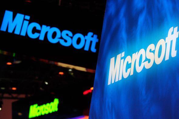 Microsoft Corp. logró capotear la debilidad del mercado de computadoras...