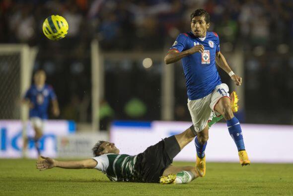 Julio César Domínguez de Cruz Azul comentó lo siguiente: ''Llevamos 2 (t...