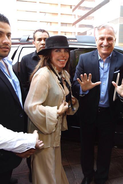 Verónica Castro devela sus huellas