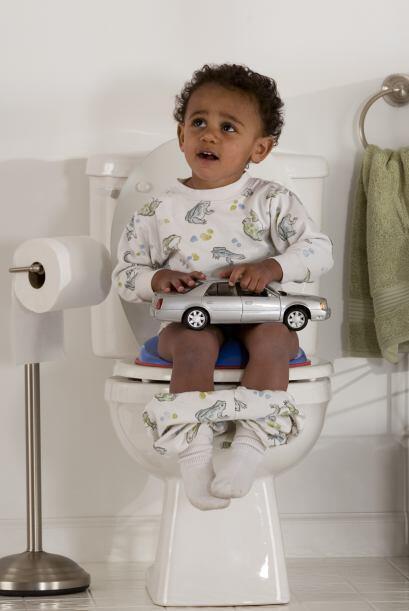 Utilizar el inodoro es parte del crecimiento natural de tu hijo, así que...