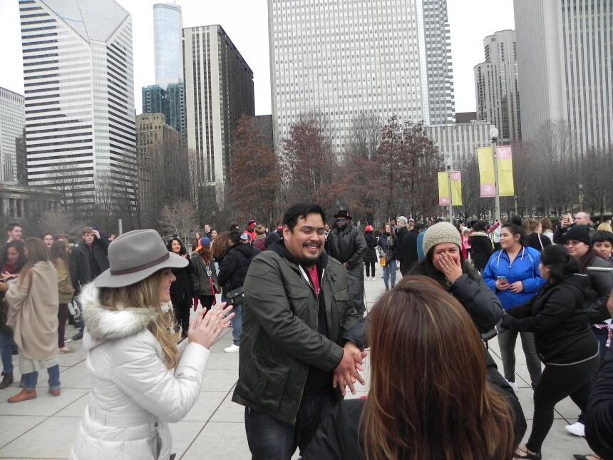 Renzo y Maria Esther visitaron la ciudad y suburbios de Chicago DSCN7398...