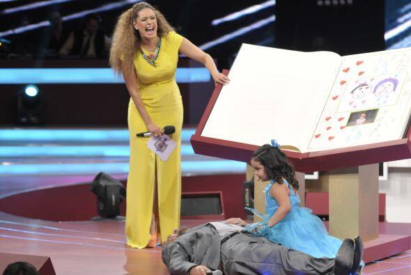 Y Galilea disfruta bastante ver las actuaciones y reacciones de Fátima.