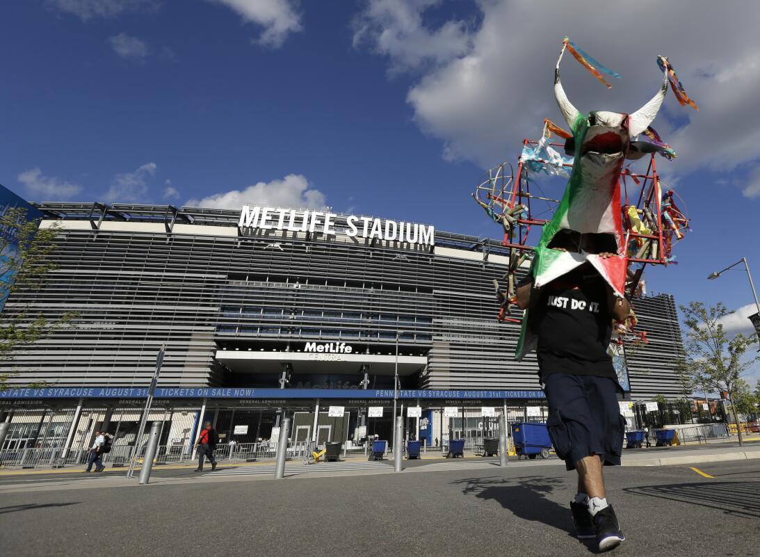 """MetLife Stadium: Un """"puerto"""" seguro para la Selección Mexicana Mex Marfi..."""