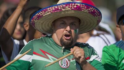 Así se vive el ambiente en el partido México vs. Jamaica