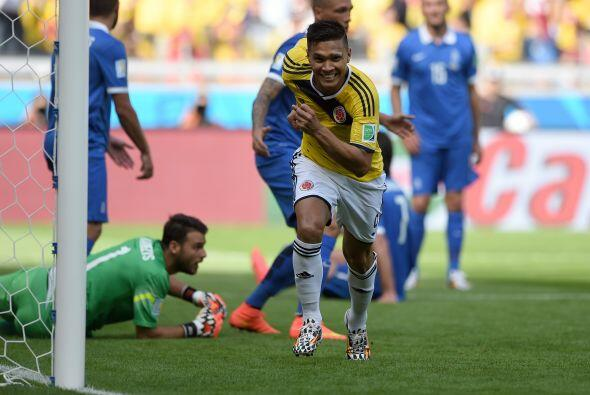 Teófilo Gutiérrez no tenía un buen partido sin embargo logró marcar el s...