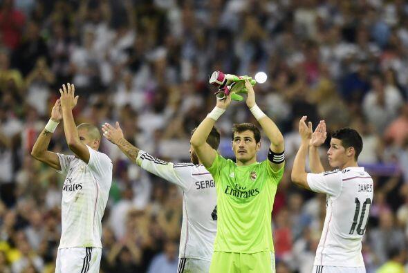 Celebración del Real Madrid qeu sigue mostrando un nivel impresionante.