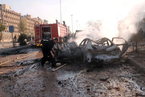 Sin embargo, la agencia siria de noticias SANA reportó que 22 personas m...