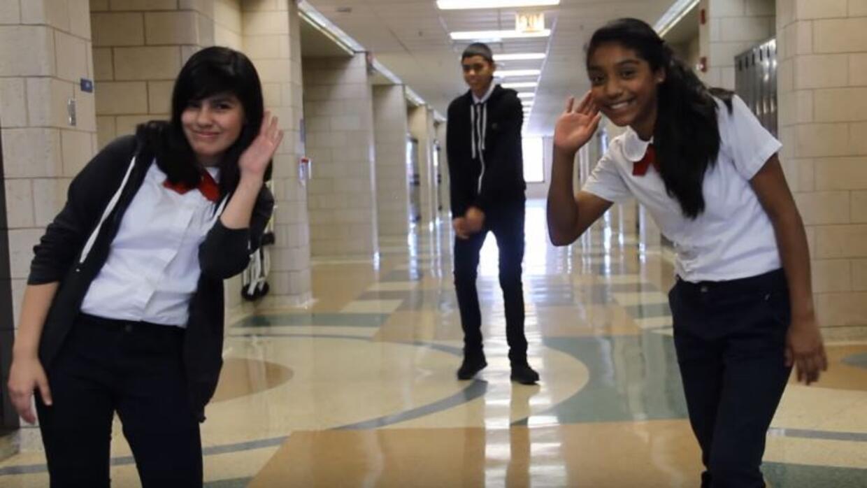 La Academia Comunitaria Orozco grabó un vídeo para enseñar buenos modales.