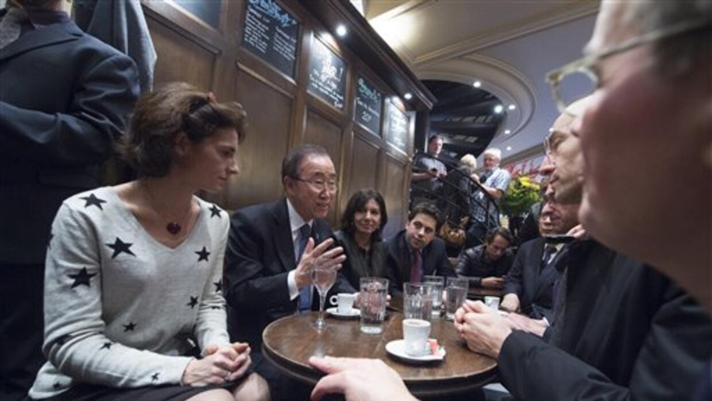 Ban Ki-moon en La Bonne Biere