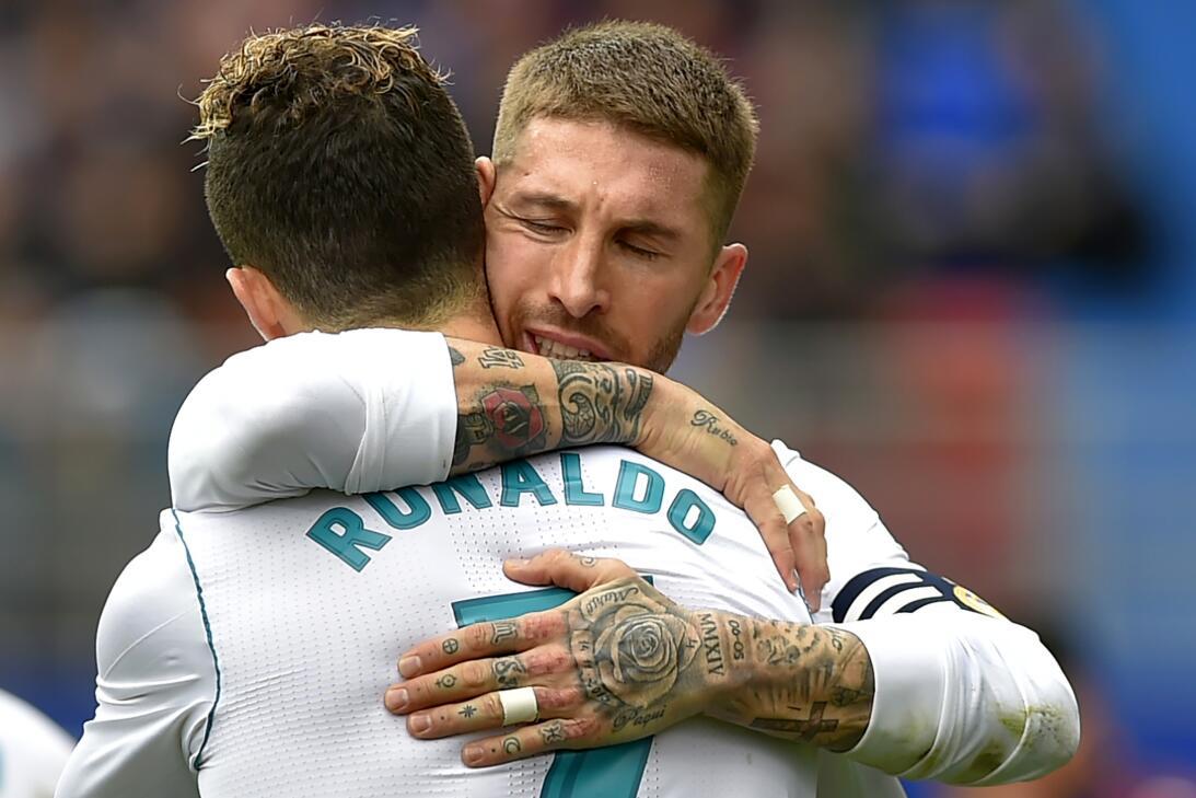 En fotos: Real Madrid venció 1-2 de visita al Eibar y sigue respirando e...
