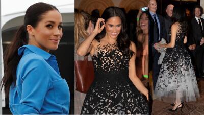 Meghan is back!: la duquesa vuelve a deslumbrar con este look de princesa tras su mayor error de vestuario