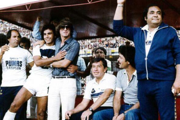 Ni que decir de Hugo Sánchez. Otra leyenda, consiguió los título del 76-...