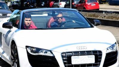 Los autos del futbolista brasilero Neymar Jr.