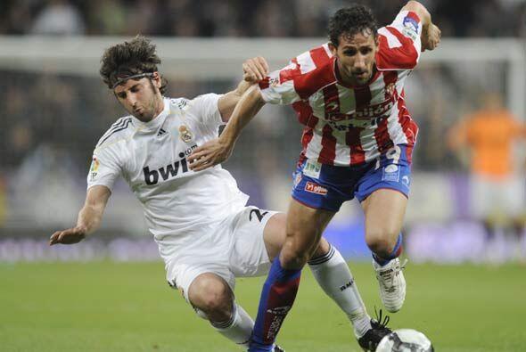 Tuvo que anotar el Sporting, en el segundo tiempo, para que el Real Madr...
