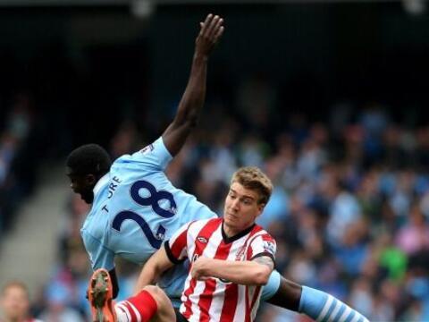 El City empató con el Sunderland y Mario Balotelli protagoniz&oac...